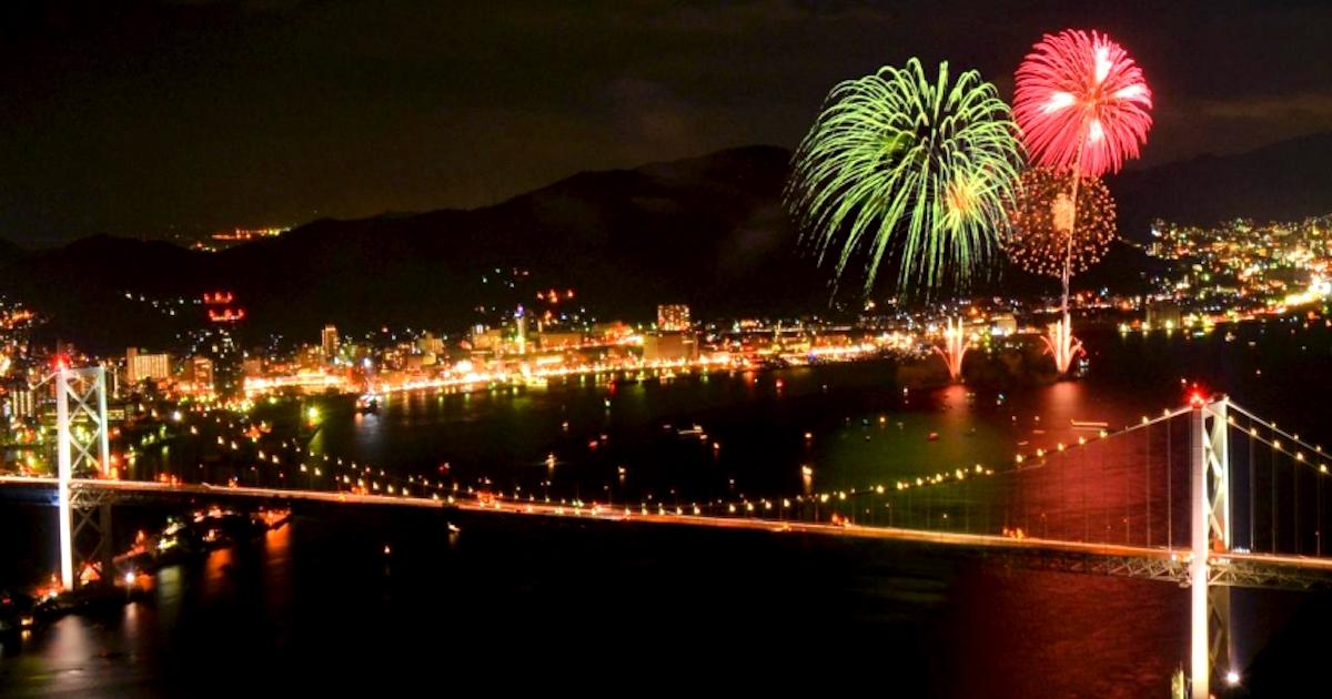 関門海峡花火大会を楽しむ!意外な穴場スポットの研究