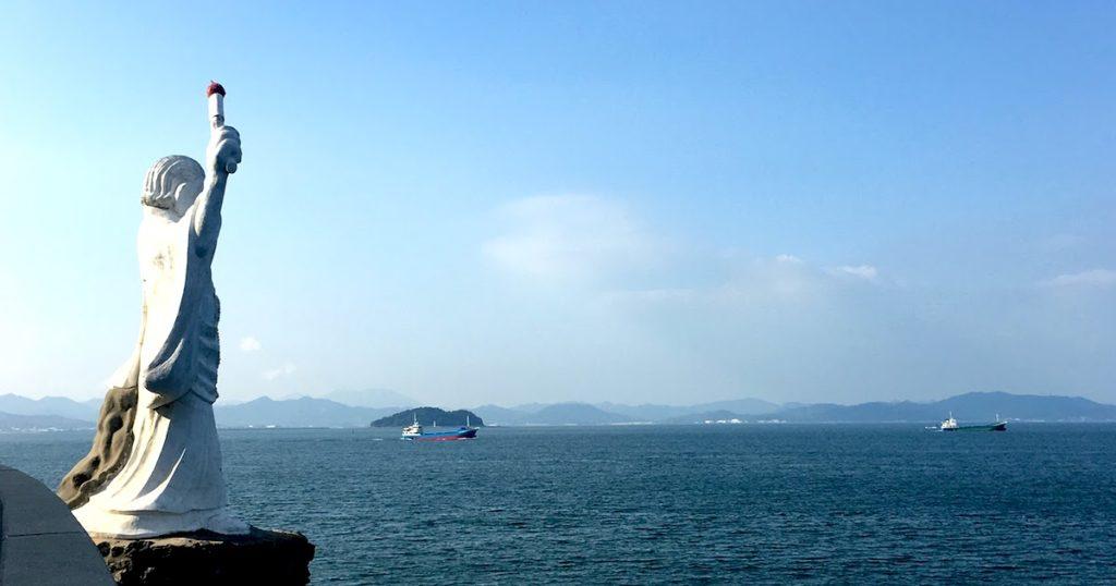 関門海峡の灯台物語 僧清虚とリチャード・ブラントン